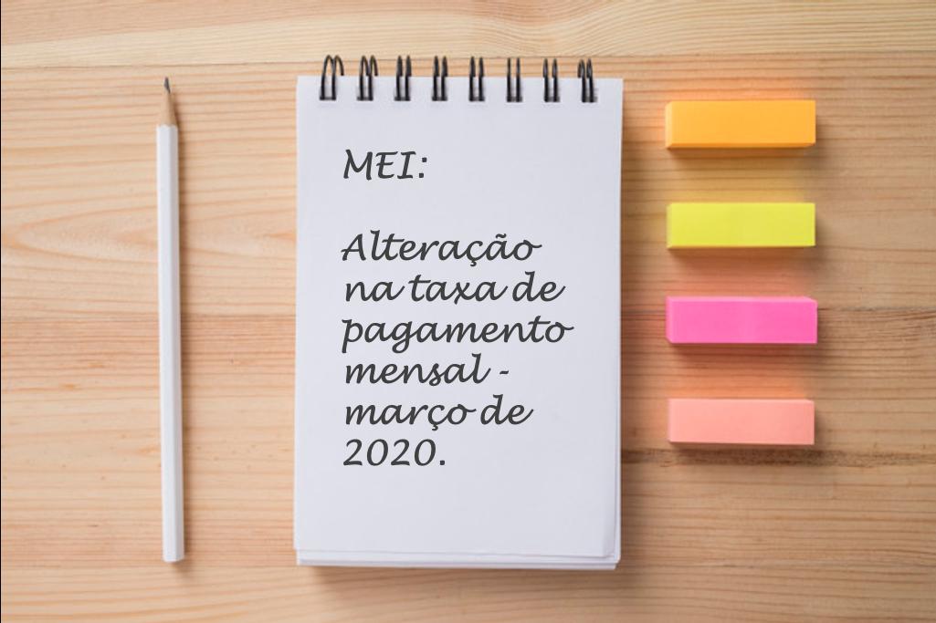 Reajuste do valor de contribuição da MEI acontece em março