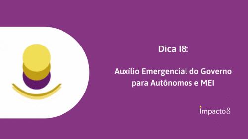 Auxílio emergencial para autônomos e MEI